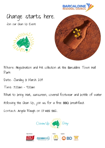 2019 Clean up Australia Day