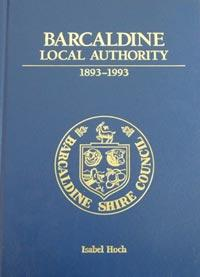 Barcaldine local authority book cover