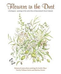 Flowers in the dust book cover