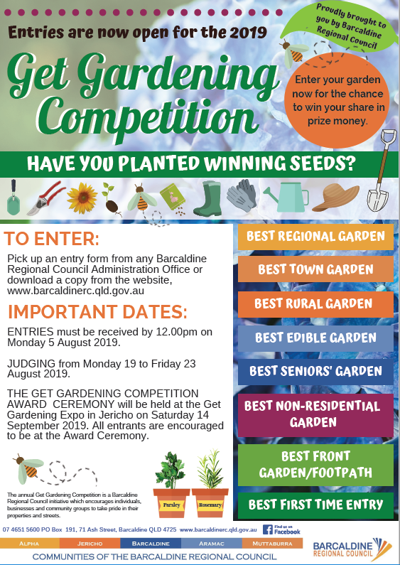 Promotional Poster Gardening Competition 2019