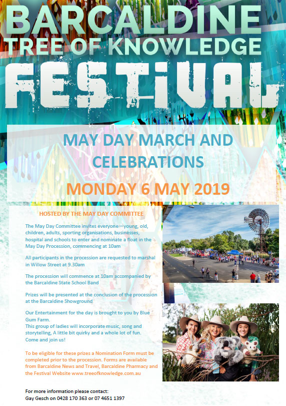 Tree of Knowledge May Day events