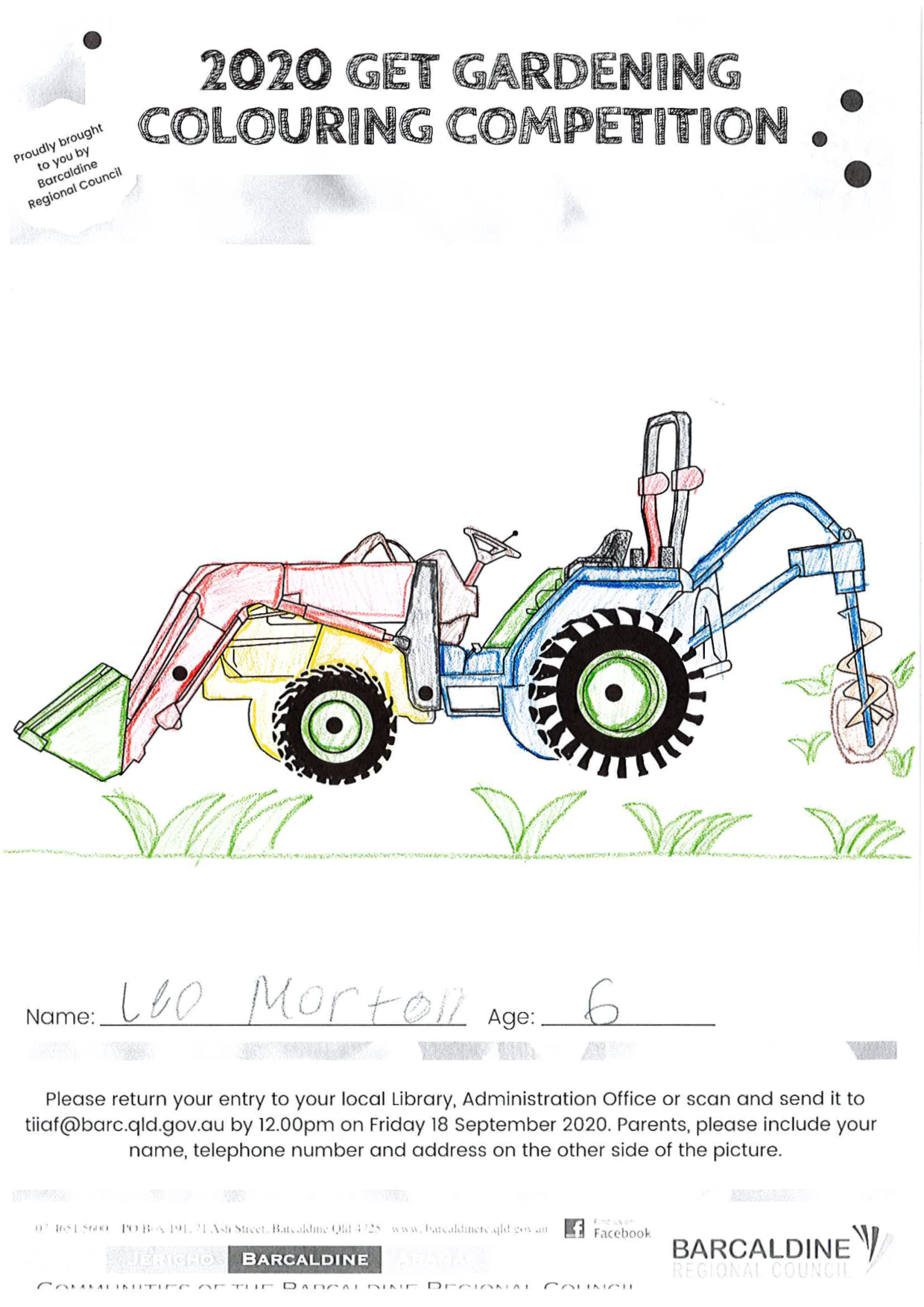 Get Gardening Colouring Competition