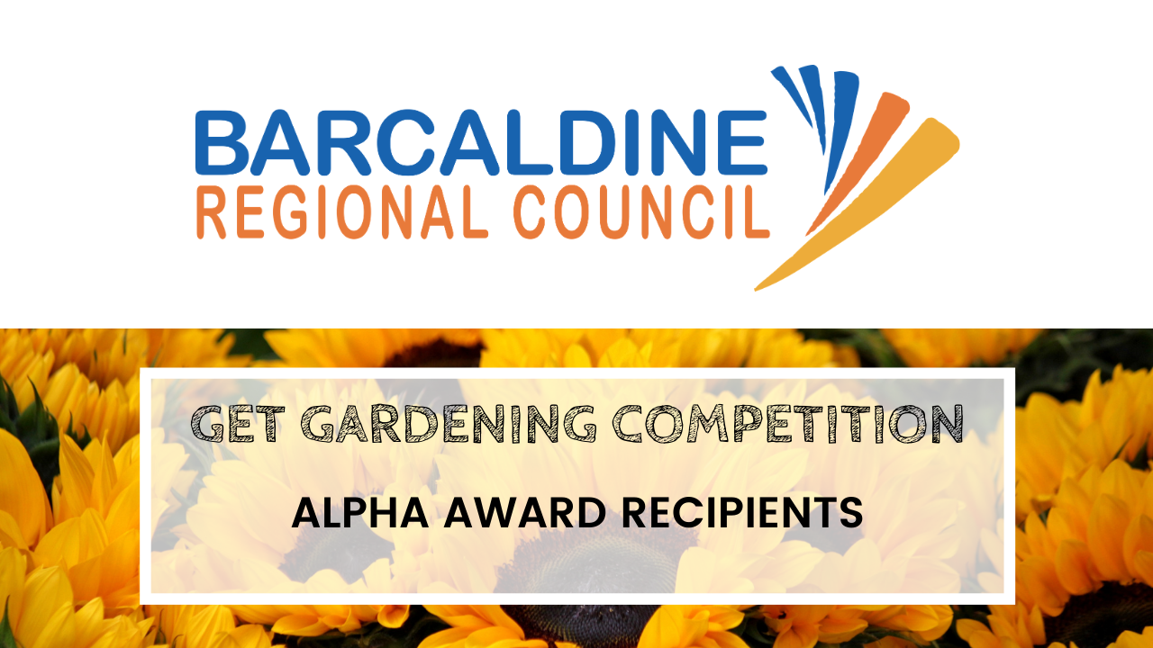 2020 Get Gardening Competition - Alpha award recipients tile